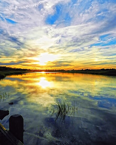 Tuckahoe Sunset by Sharon Woerner