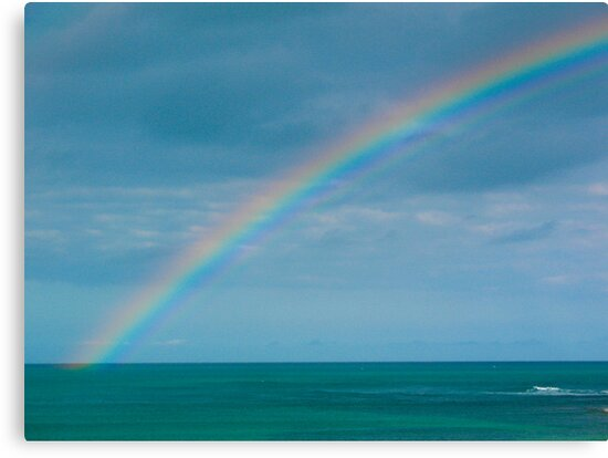 Rainbow at Sea by haymelter