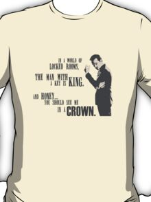 Sherlock - Moriarty Honey you should see me in a crown  T-Shirt