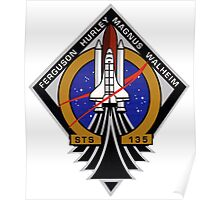 STS-135 Mission Patch Poster
