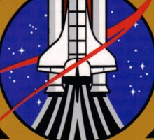 STS-135 Mission Patch Sticker
