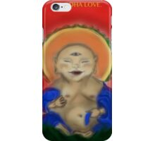 Love For Happy, Baby, Buddha iPhone Case/Skin
