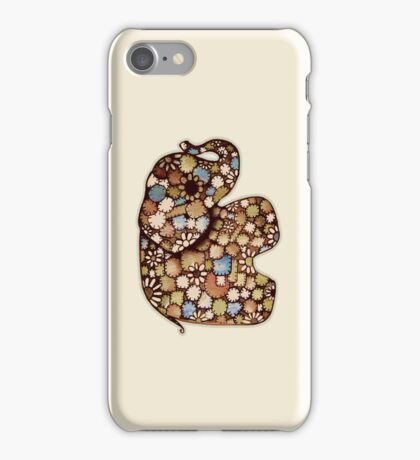 Patchwork Elephant iPhone Case iPhone Case/Skin