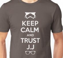 TRUST J.J (White) Unisex T-Shirt