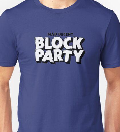 Mad Decent - Block Party (Blue) Unisex T-Shirt