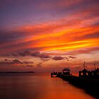 Wakatobi sunset by Erik Schlogl
