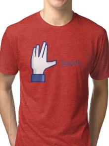 Social Spock Tri-blend T-Shirt