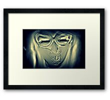 Speak No Evil - II Framed Print