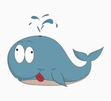 Cartoon whale Kids Tee