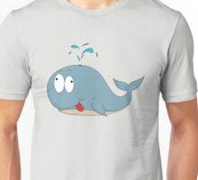 Cartoon whale Unisex T-Shirt
