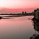 Dawn At Maroochy River. Maroochydore, Qld, Australia. by Ralph de Zilva