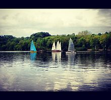 Etherow Park, Stockport - Sail Boats by Browneyedgirl78