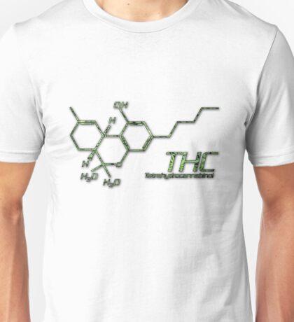 THC Molecule Unisex T-Shirt