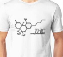 THC Molecule - Smoke Unisex T-Shirt
