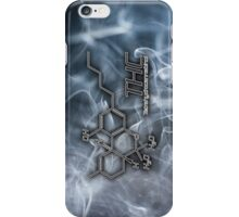 THC Molecule - Smoke iPhone Case/Skin