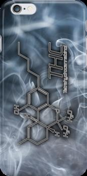 THC Molecule - Smoke by Netherlabs