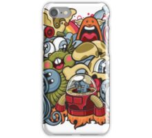 Comics and pokemon  iPhone Case/Skin