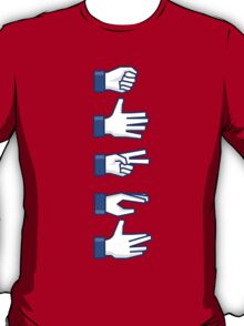 Rock, Paper, Scissors, Lizard, Spock T-Shirt