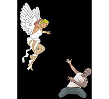 zombie/angel a love story Photographic Print