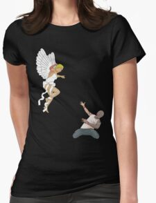 zombie/angel a love story Womens Fitted T-Shirt