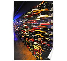 The Guitar Wall Poster