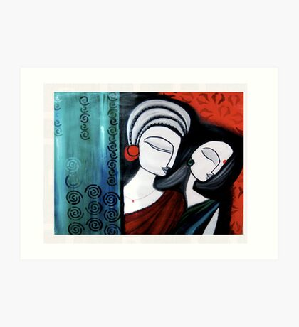 Completely Mutual Art Print