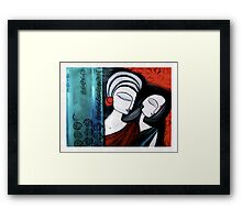 Completely Mutual Framed Print