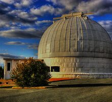 Mount Stromlo Canberra Australia by Kym Bradley