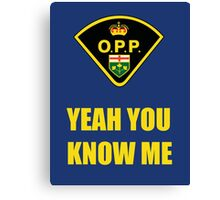 You down with OPP? Canvas Print