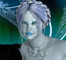 Fantasy Snow Fairy by Vac1