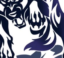 Wolf tribal tattoo Sticker