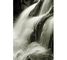 Streaming Waterfall Photographic Print