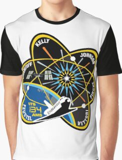 STS-134 Mission Patch Graphic T-Shirt