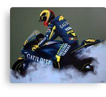 Valentino Rossi  Canvas Print