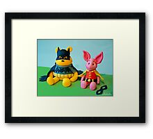 The Hero The 100 Acre Wood Deserves... Framed Print