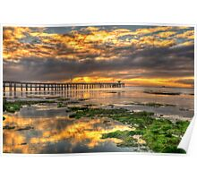 Point Lonsdale Sunrise Poster