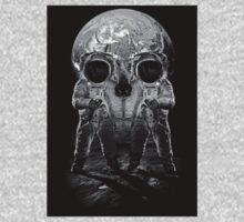 Astronaut Skull by DecayAllDay