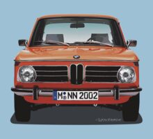 BMW 2002 Neue Klasse (Inka Orange) by Sharknose