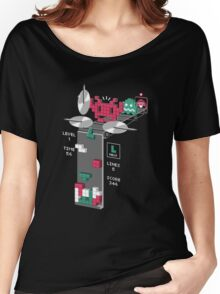 The Truth Behind Tetris Women's Relaxed Fit T-Shirt