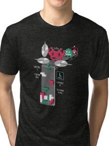 The Truth Behind Tetris Tri-blend T-Shirt