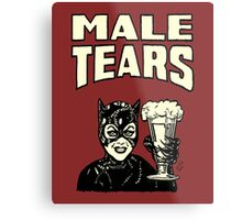 Male Tears: Catwoman Metal Print