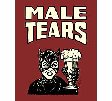 Male Tears: Catwoman Photographic Print