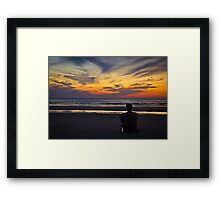 When was the last time you treated yourself good? Framed Print