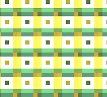Boxes in Green & Yellow by RoufXis