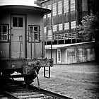 Caboose and Factory by KellyHeaton