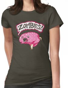 Brain Food Womens Fitted T-Shirt