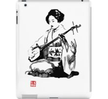 shamisen iPad Case/Skin