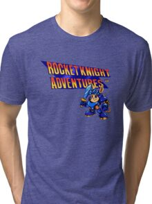 Rocket Knight Adventures Tri-blend T-Shirt