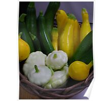 White Patty Pans and More Poster