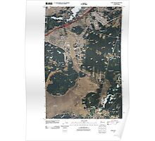 USGS Topo Map Washington State WA Fort Lewis 20110504 TM Poster